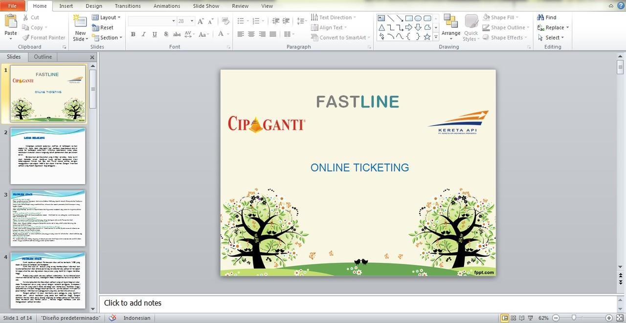 JASA PEMBUATAN PRESENTASI ( Power Point & Flash Basic)