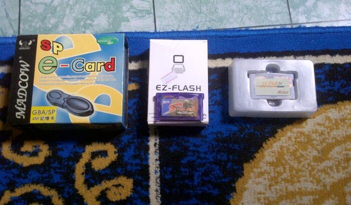 Lelang Ez-flash, Supercard, dan Kaset GBA