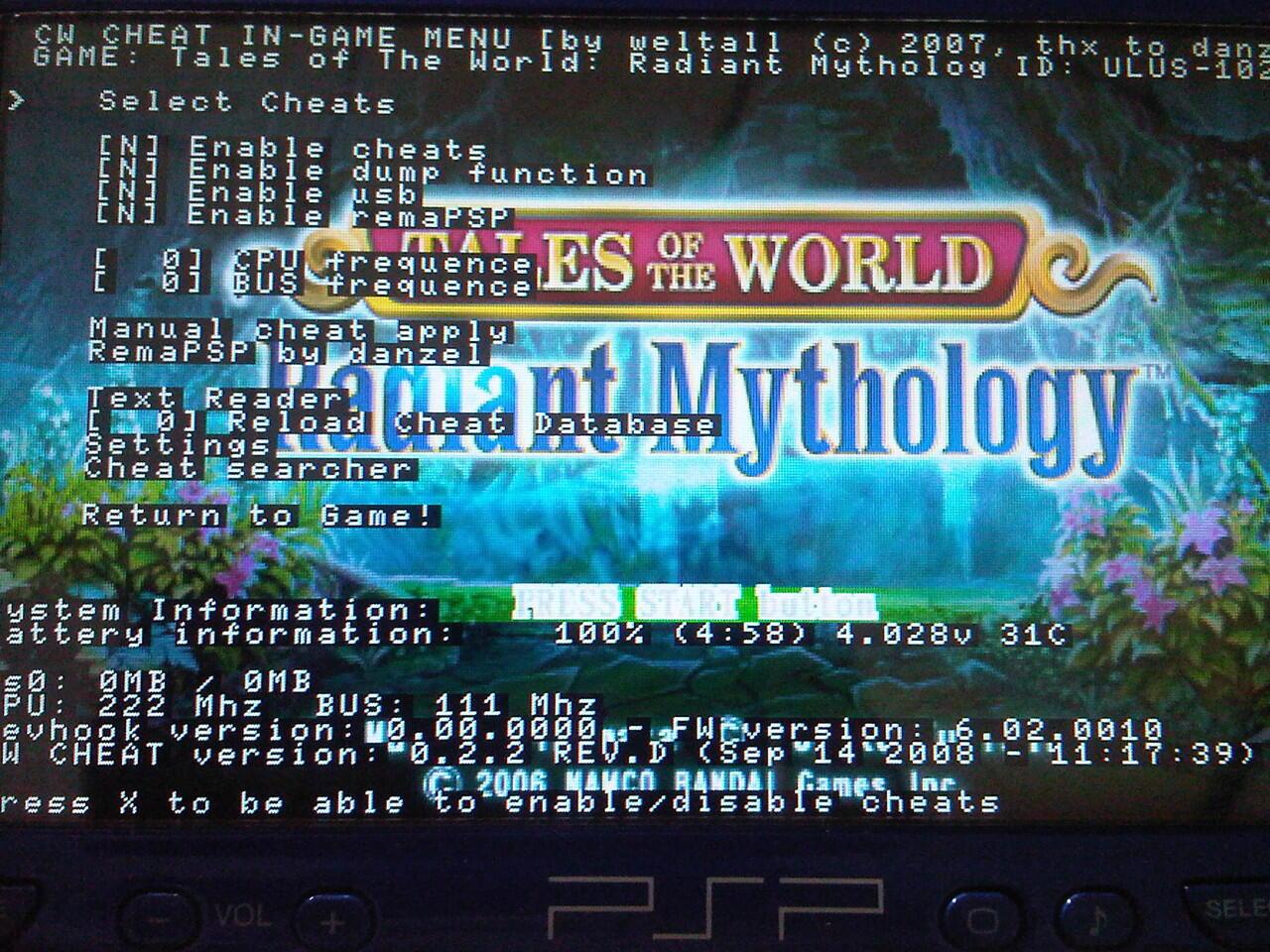 PSP 2006 Metallic Blue Maknyuss
