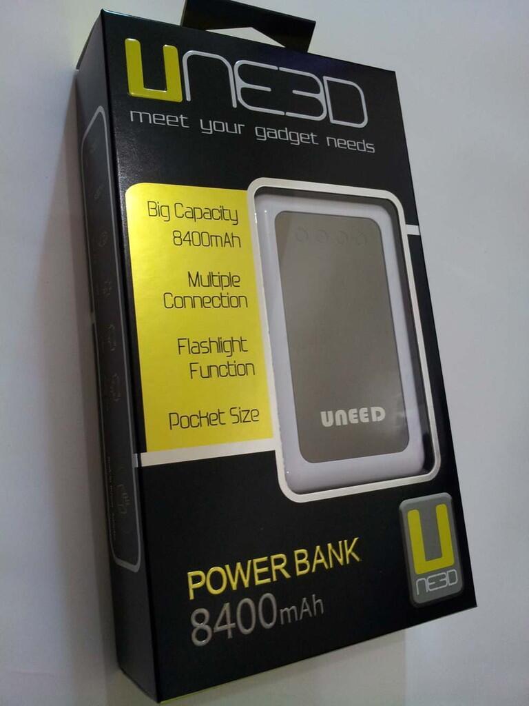 [NEW] UNEED PowerBank 5600 & 8400 MAH ( Original Pure Samsung Cell ) - PROMO!
