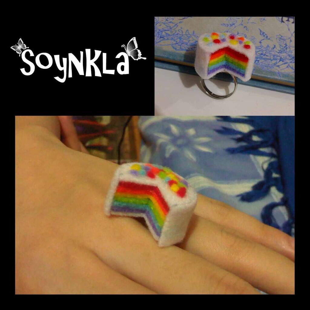 Cincin handmade unik dari flanel - Soynkla