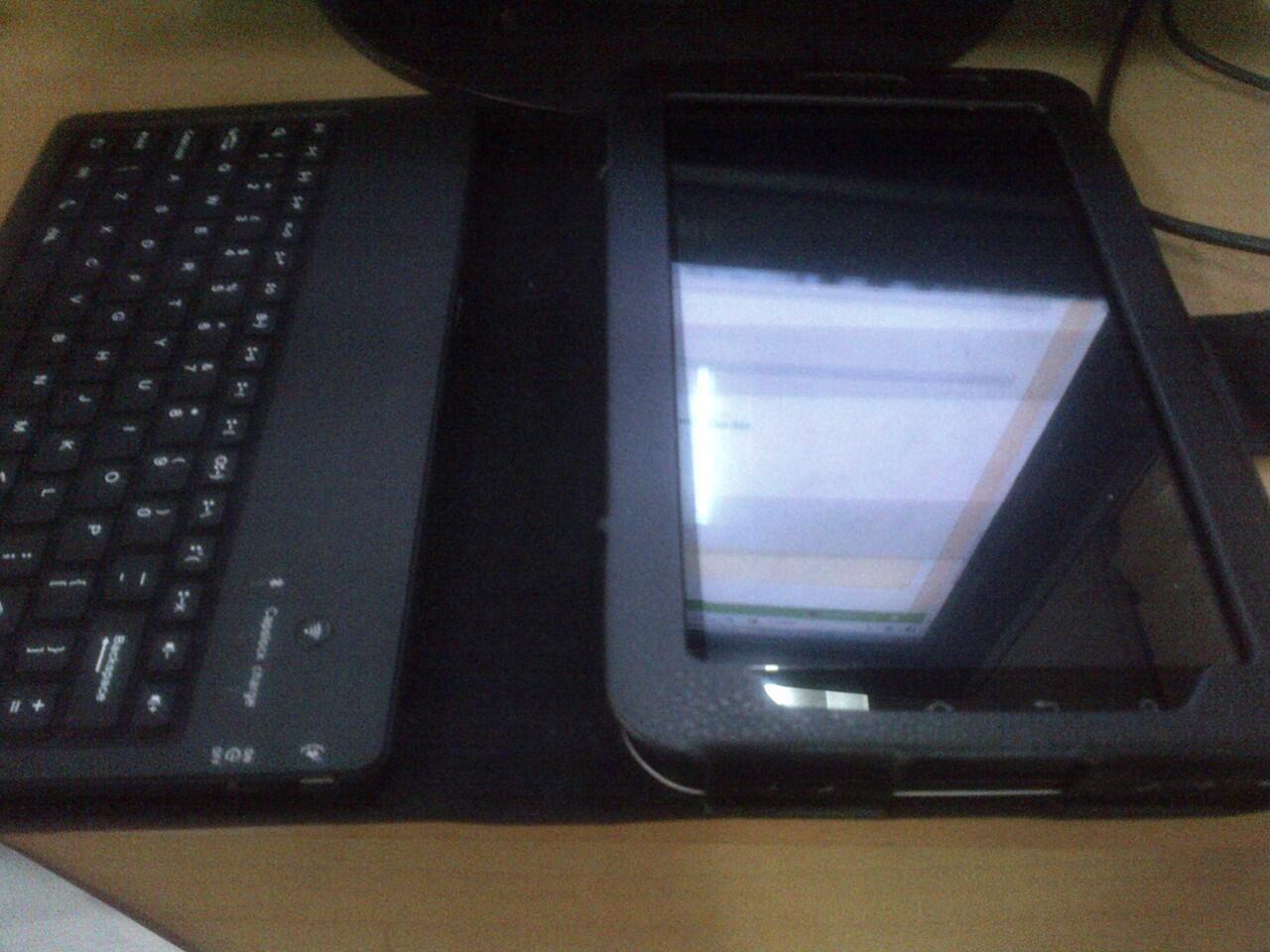 Samsung Galaxy Tab P1000 Like New - + Bluetooth Keyboard