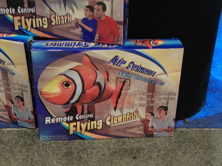 Air Swimmer!! Ikan Yang Bisa Dikendalikan dengan Remote Kontrol!!