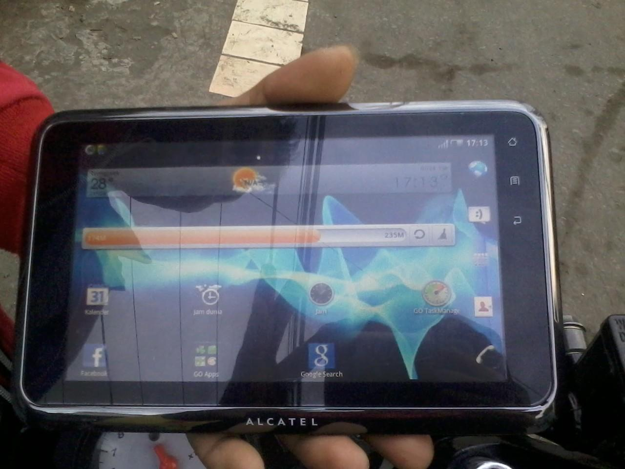 Jual cepat Tablet Alcatel one touch t60