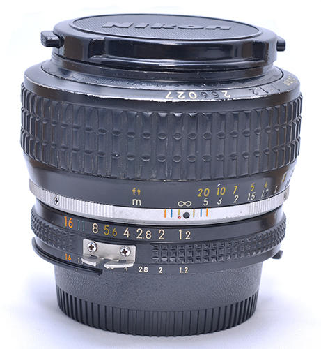 [Rare Item] Dijual Nikon MF 50mm f/1.2 Ais bokeeeeeehhh pooooolll