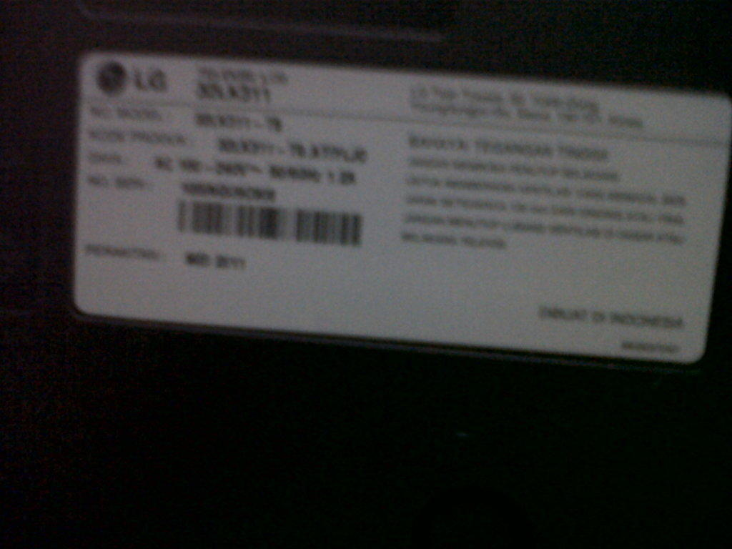 TV LG LCD 32LK311 32inch mulusss abiss
