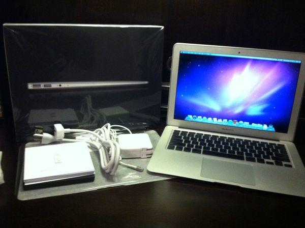 "Apple MacBook Air 13"" 1.86 Ghz 256GB.Rp. 3.700.000,-"
