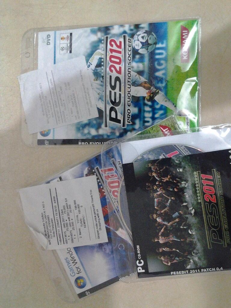 DVD PES 2011+2012 LENGKAP dan MURAH!!!
