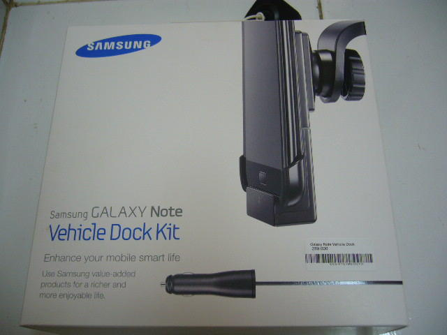 Galaxy Note Vehicle Dock