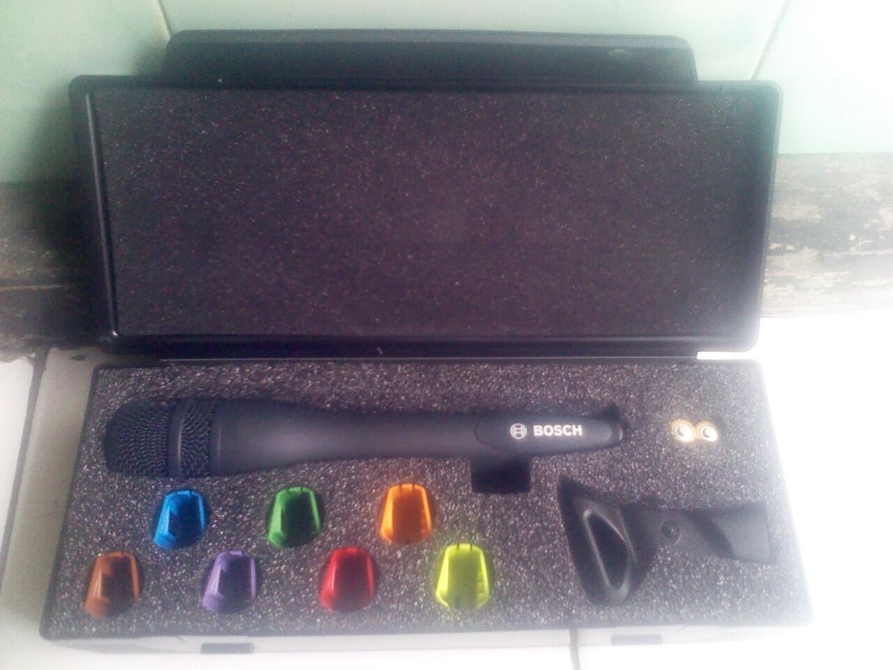 Microphone wireless Bosch