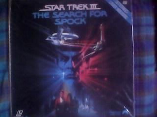 LASER DISC STAR TREK