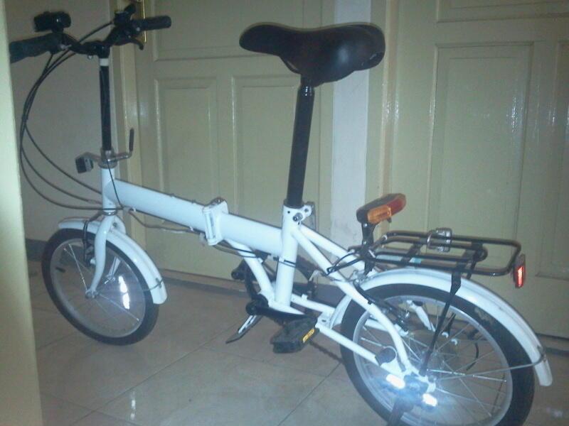 Jual sepeda lipat 16 inchi murah... BU