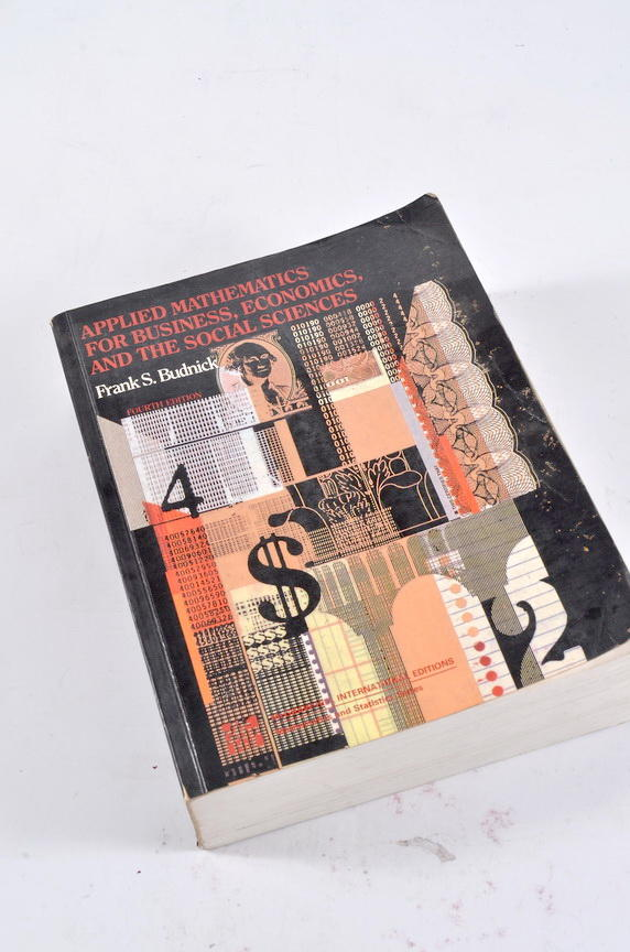 Applied Mathematics for Business, Economics and the Social Sciences