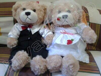 Aneka Boneka Couple / Pasangan / Sepasang / Single Bear / Piyo-Piyo / Gantungan Kunci