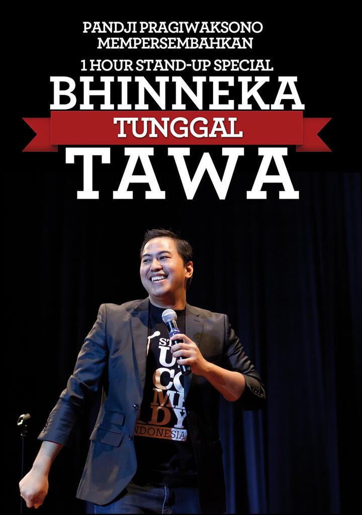 """Official Seller #DVDBTT (""""DVD Bhineka Tunggal Tawa - Pandji Pragiwaksono"""")"""