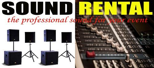 PROFESSIONAL SOUND RENTAL