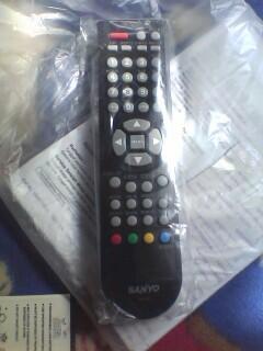 jual remote tv lcd original merek sanyo 100%