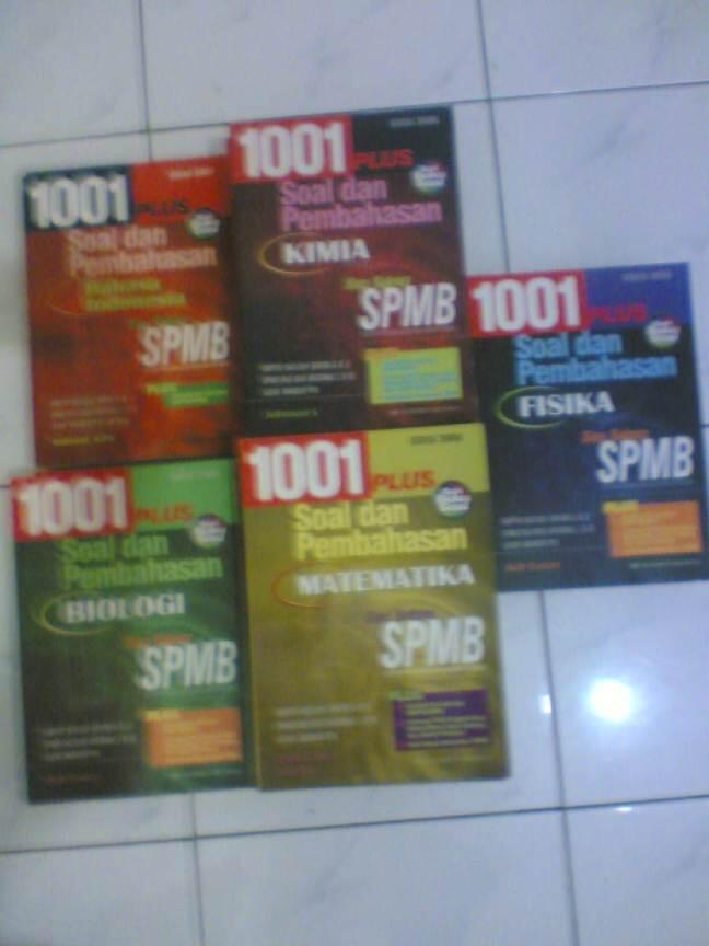 1001 Soal Pembahasan SPMB Bob Foster maknyus u/ SNMPTN