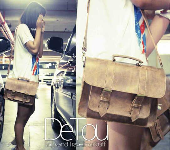 DeTou Re-Stock Unisex Postman Bag ( Weekender Urban Style )