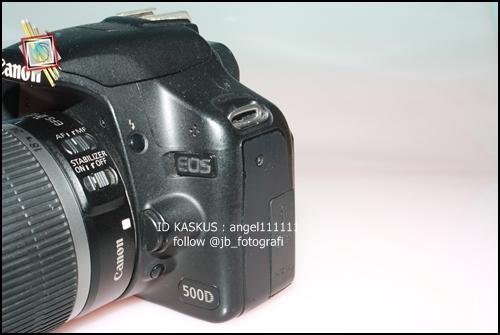 CANON EOS 500D + KIT 18-55mm IS [ BANDUNG ]
