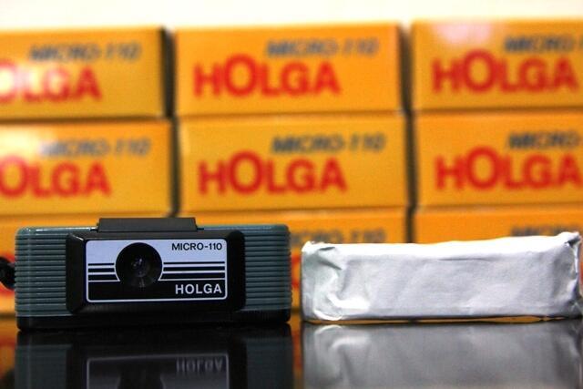 Camera Baby Holga With Film 110 mm