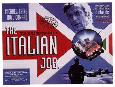 WTB : VDCD, DVD, DVIX, HD MOVIES Italian Job original 1969