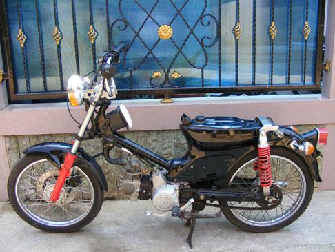 Jual Honda C 70 Bahan Buat Cuppy Cub