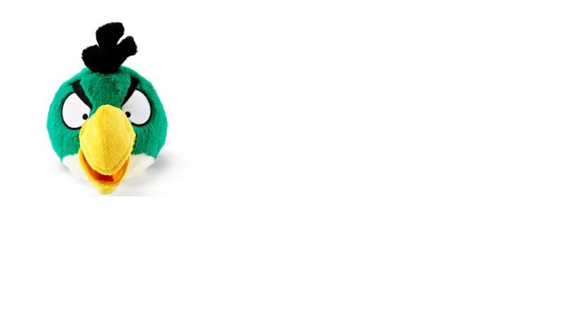 bLi boneka Angry Bird Ijo