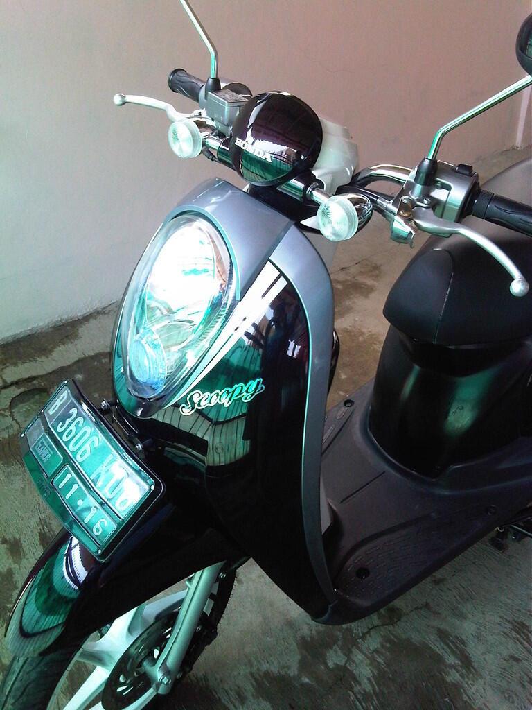 Honda Scoopy Tahun 2011, Bekasi