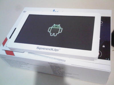 Jual Tablet SpeedUp+8gb+Android ICS 4+Lengkap Grn sd.Maret 2013