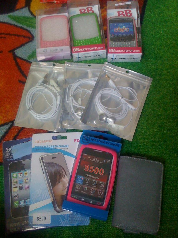 accesories bb ( batre, casing, charger) MURAH!!