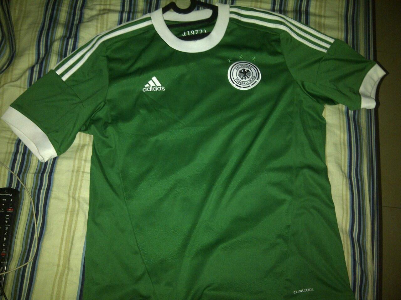 Jersey Germany Away Euro 2012 Size L ORIGINAL 100%