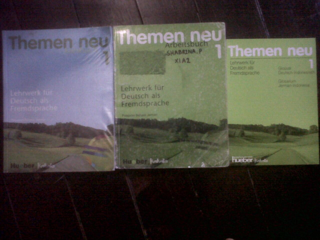 JUAL Buku Themen Neu 1 (Lengkap), New Opportunities (Pre intermediate), 1001 soal sma