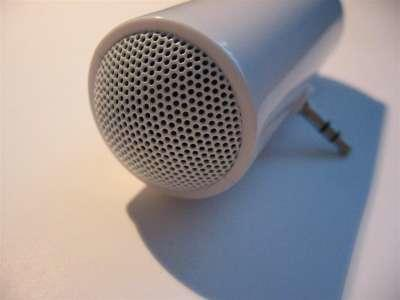 mini microphone & stereo speaker untuk apple ipod / iphone / itouch / ipad aksesoris