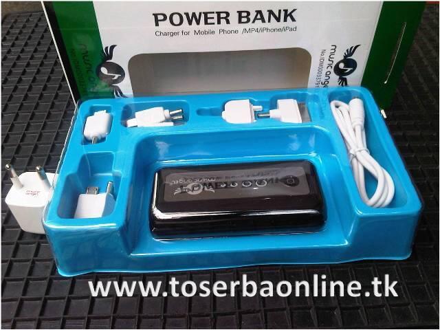 JUAL : Power Bank Portable Charger 5600mAh, MURAH, GARANSI, CUMA 200 RIBUAN...