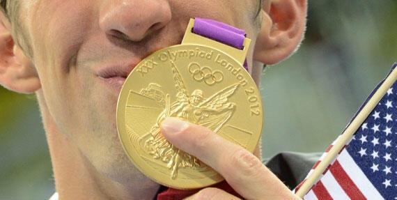 Medali Emas Olimpiade Terbuat dari Perak !
