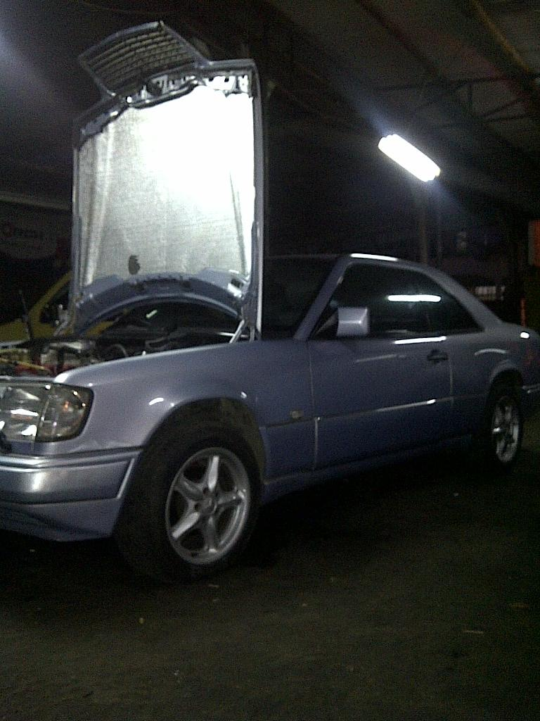 DIJUAL Mercy CE300 Coupe A/T Sunroof -1993- LANGKA