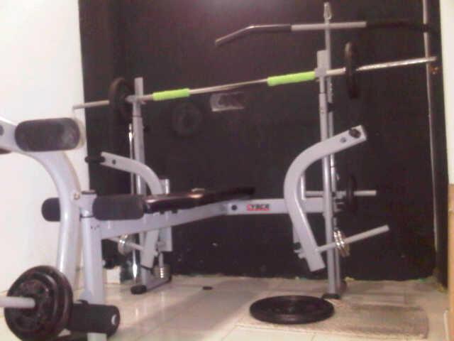 Jual alat fitnes bench press dan homegym murah