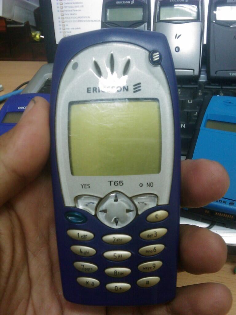 Jual Hp jadul borongan atau satuan Ericsson GA 628, GA 318, T65 dan T10