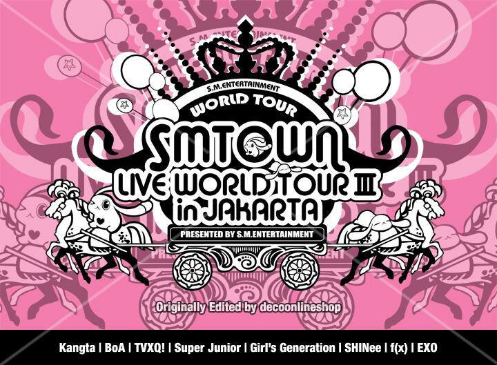[WTS] [PO] KAOS SMTOWN LIVE WORLD TOUR III in JAKARTA !!!
