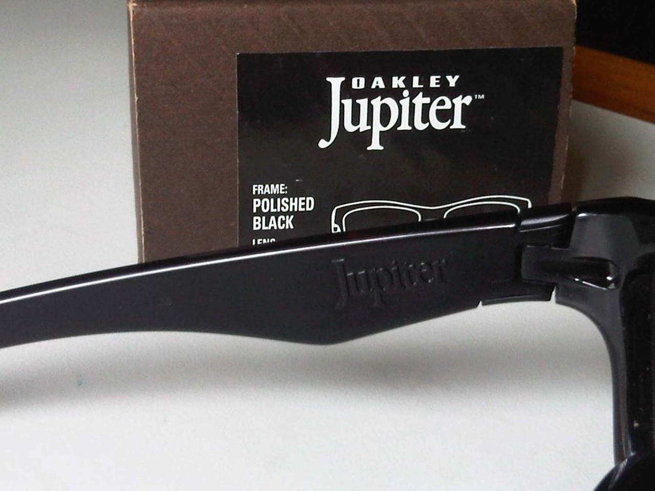Oakley Jupiter Polished Black, Black Iridium ORI