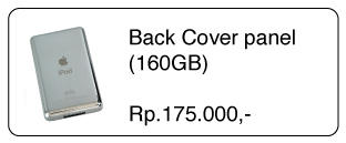 SparePart iPod Classic Paling Lengkap