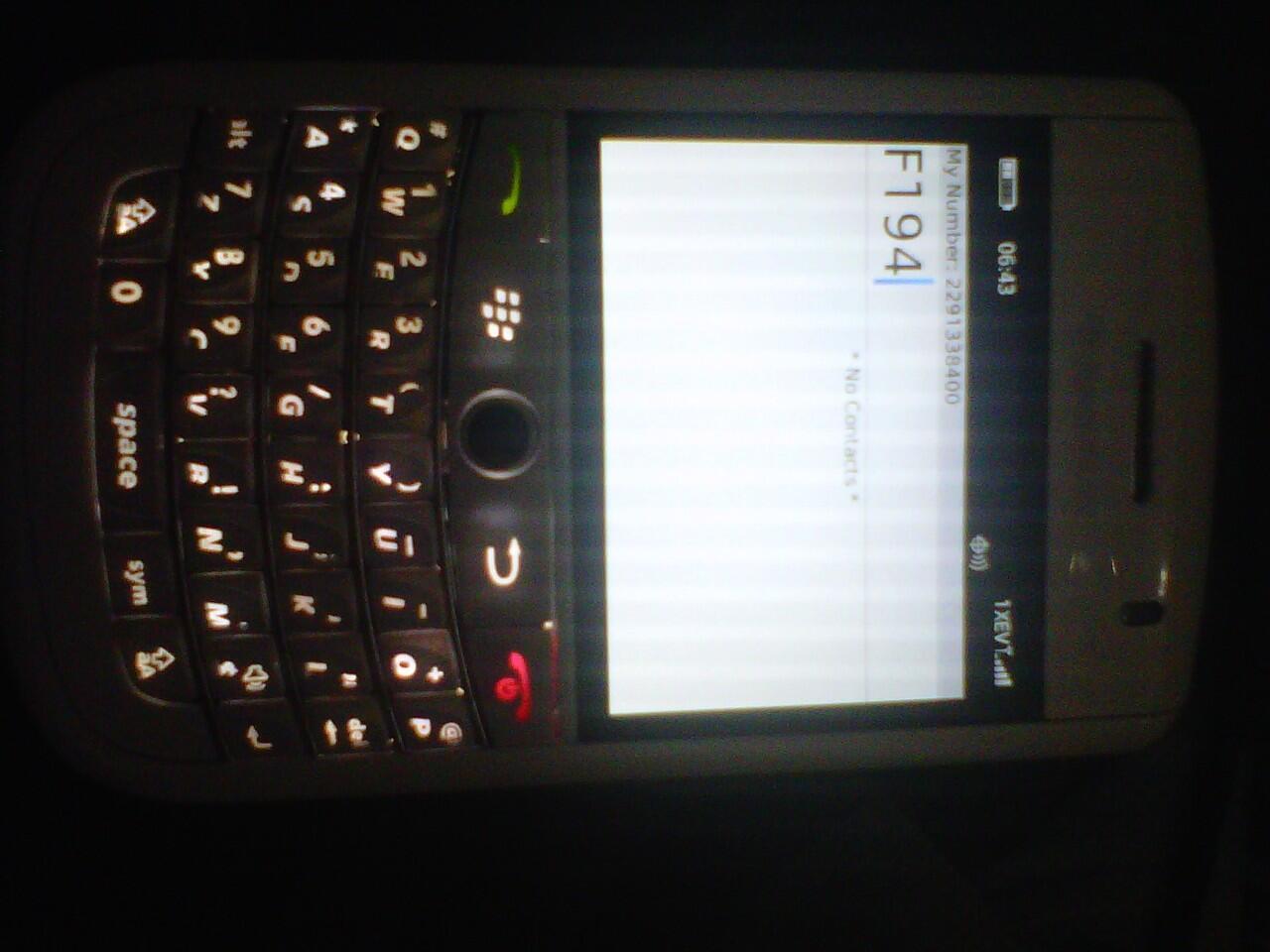 Casing Full Housing Blackberry Tour 9630 Putih / White