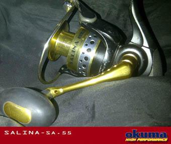 Jual Alat Pancing Reel OKUMA Salina SA55