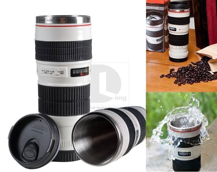 Gelas Unik : Gelas Replika Lensa Kamera Canon
