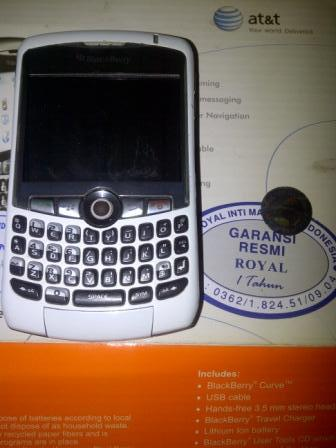 BLACKBERRY 8310 WHITE | BANDUNG ONLY