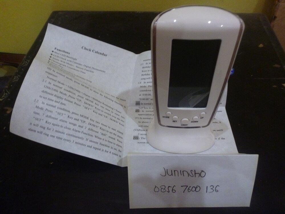 Jam Alarm LED Digital (Square Clock 510)