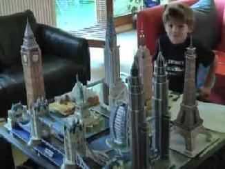 Jual PUZZLE 3 DIMENSI (model bangunan-bangunan terkenal & spektakuler di dunia)