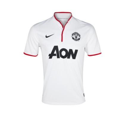 [Pre-Order] Jersey Manchester United Away White 2013