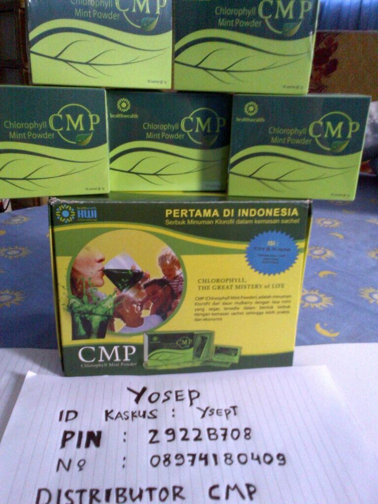 Terjual Hot Sale Minuman Herbal Penurun Berat Badan Cmp Clorofil Mint Powder Chlorophyll